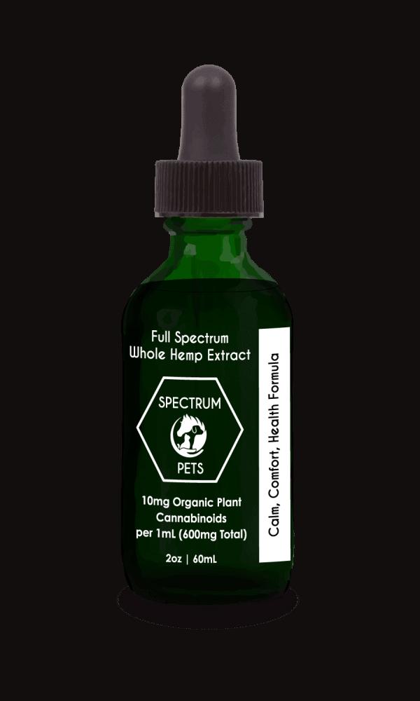 Full Spectrum Hemp Extract - Extra Virgin CBD Oil For Pets - Spectrum EQ