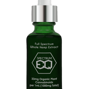 Full Spectrum Hemp Extract - Extra Virgin CBD Oil - Spectrum EQ